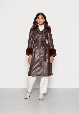 HARMONY COAT - Klassinen takki - brown