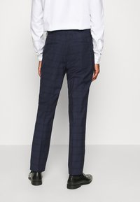 Calvin Klein Tailored - TELA CHECK NATURAL SUIT - Traje - blue - 5
