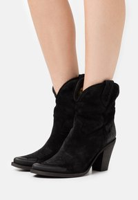 Felmini - STONES - High heeled ankle boots - marvin nero - 0