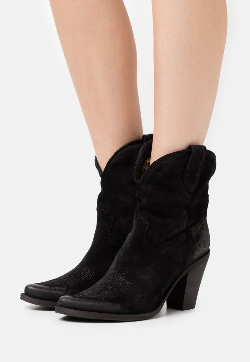 Felmini - STONES - High heeled ankle boots - marvin nero