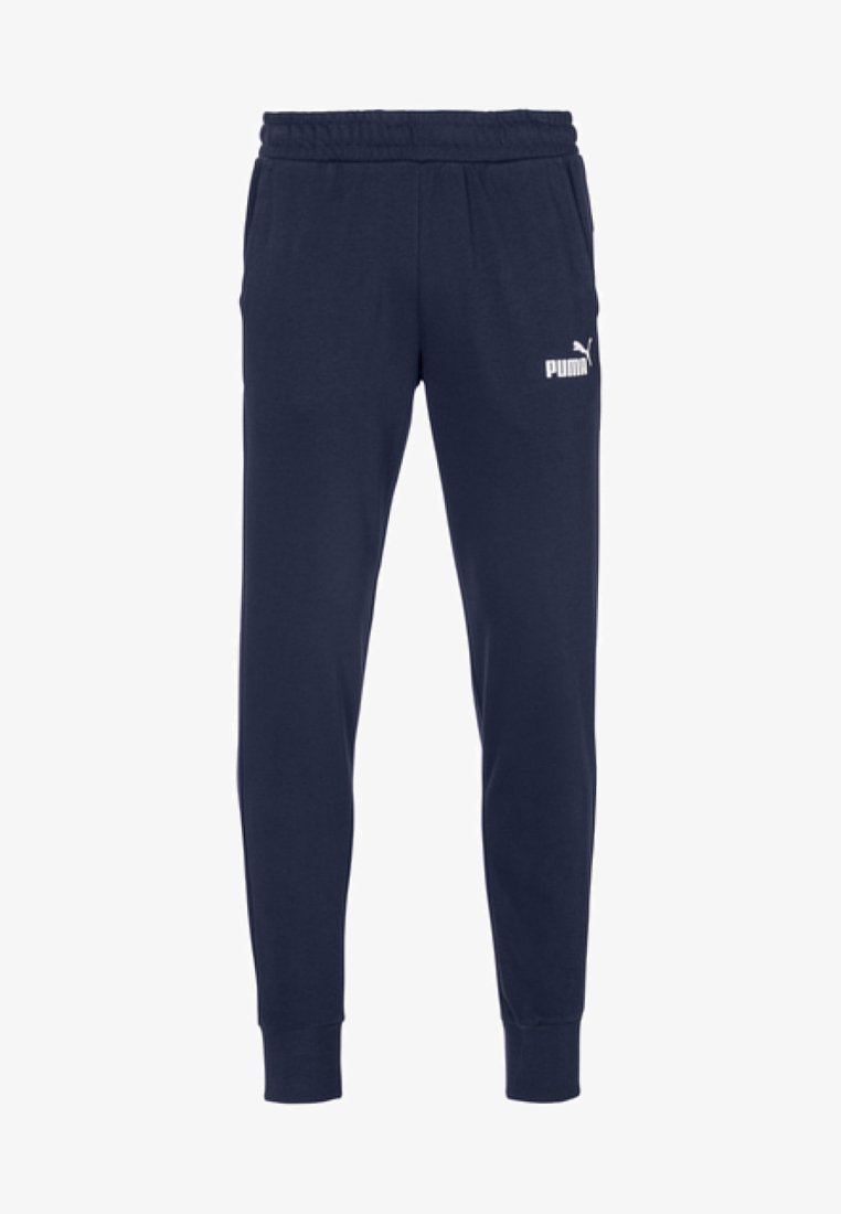 Puma - ESS LOGO PANTS - Tracksuit bottoms - blue
