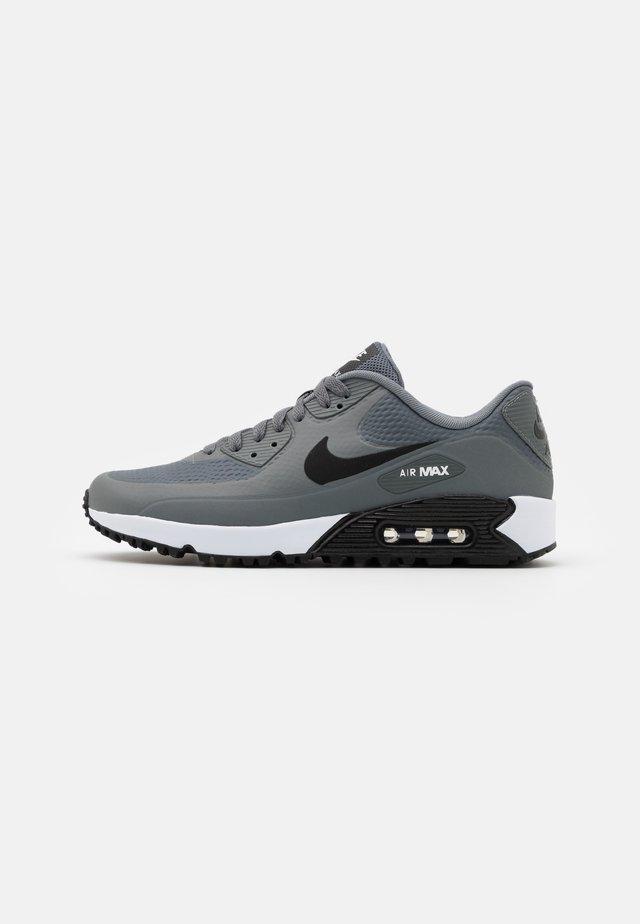 AIR MAX 90 G - Chaussures de golf - smoke grey/black/white