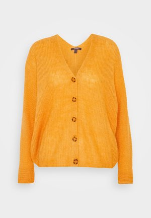 Cardigan - honey yellow