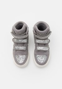 Hummel - STADIL GLITTER - High-top trainers - alloy - 3