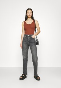 BDG Urban Outfitters - PICOT TRIMMED TANK - Top - mink brown - 1