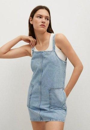 Denimové šaty - medium blue