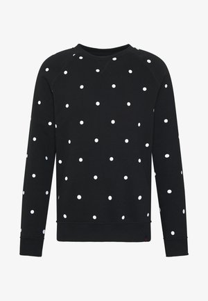 PARDO DOT CREW - Sweatshirt - black/white