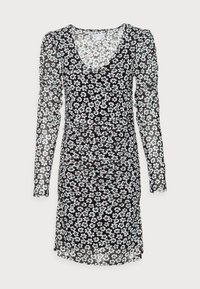 Fabienne Chapot - MARIE DRESS - Shift dress - black/emerald - 3