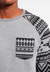 YOURTURN - Sweatshirt - mottled grey - 3