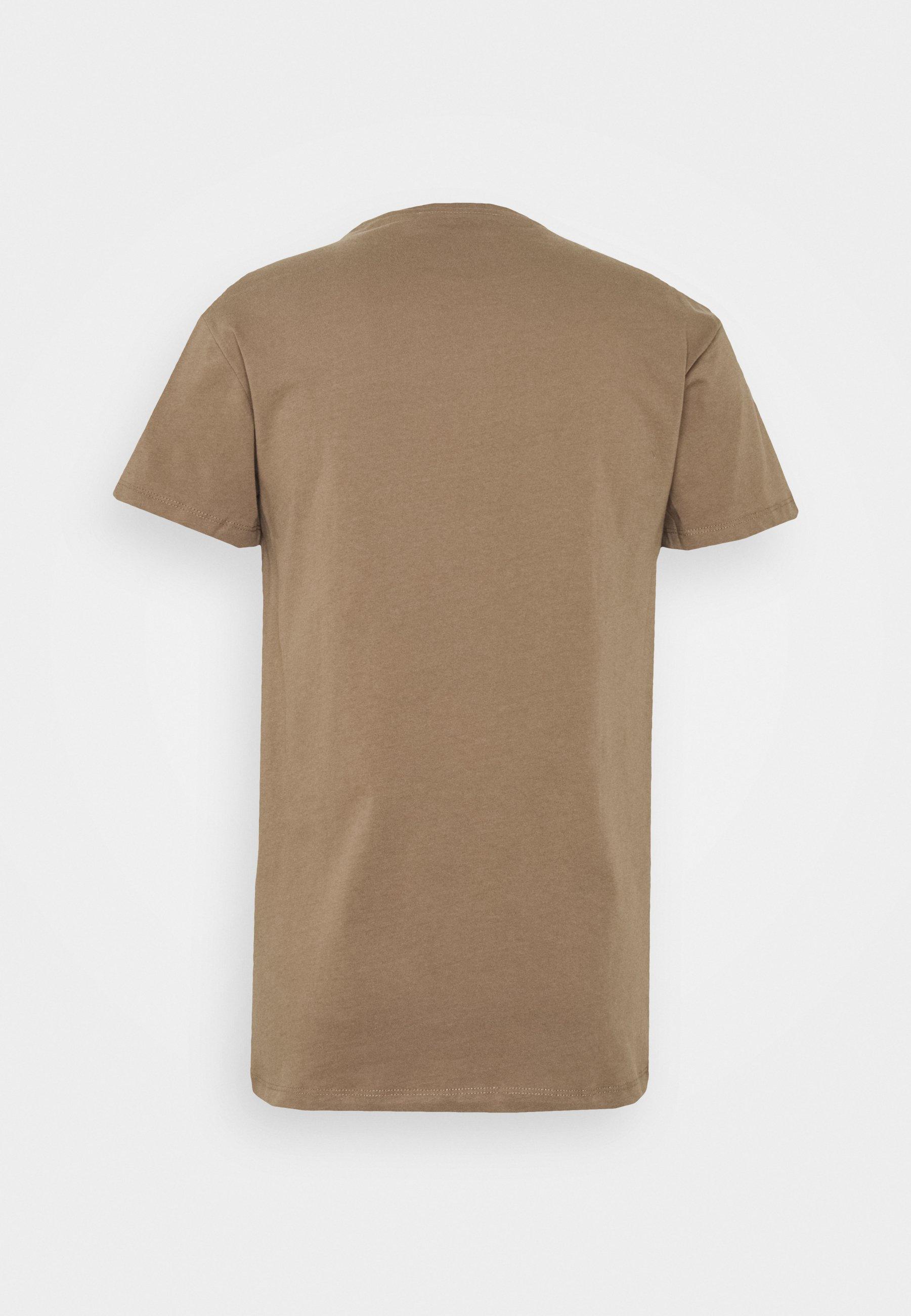 Samsøe Kronos - T-shirts Shitake/brun