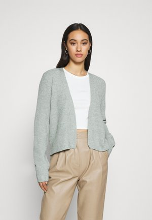 VIRIL OPEN CARDIGAN - Kofta - green milieu