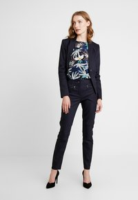comma casual identity - 3/4 ARM - Blouse - blue - 1