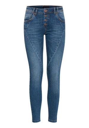 PZANNA SKINNY  - Skinny džíny - medium blue denim