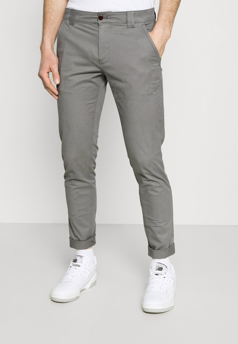 Tommy Jeans - SCANTON PANT - Chinos - grey
