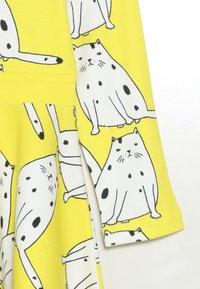 igi natur - LONG DRESS - Jerseykjoler - yellow - 2