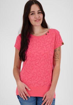 COCOAK  - Print T-shirt - coral