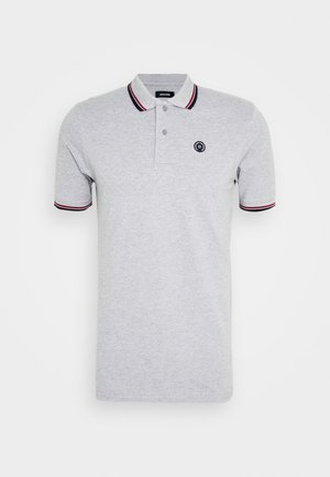 JJENOAH - Polo shirt - light grey melange