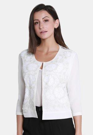 Cardigan - woolen white