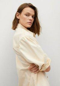 Mango - Button-down blouse - pastelgeel - 3