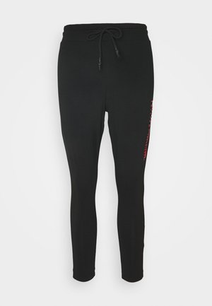 ONPATLEE LIFE - Leggings - black/fiery coral