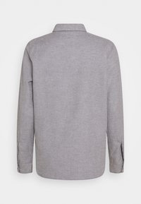 CLOSED - HAILEY - Button-down blouse - grey heather melange - 1