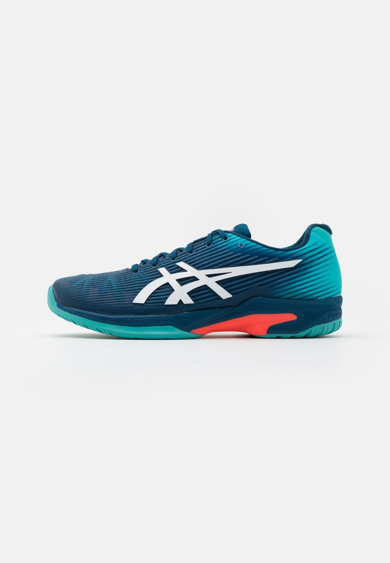 ASICS - SOLUTION SPEED FF - Multicourt tennis shoes - mako blue/white