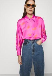 Cras - BIJOU - Button-down blouse - pink - 3
