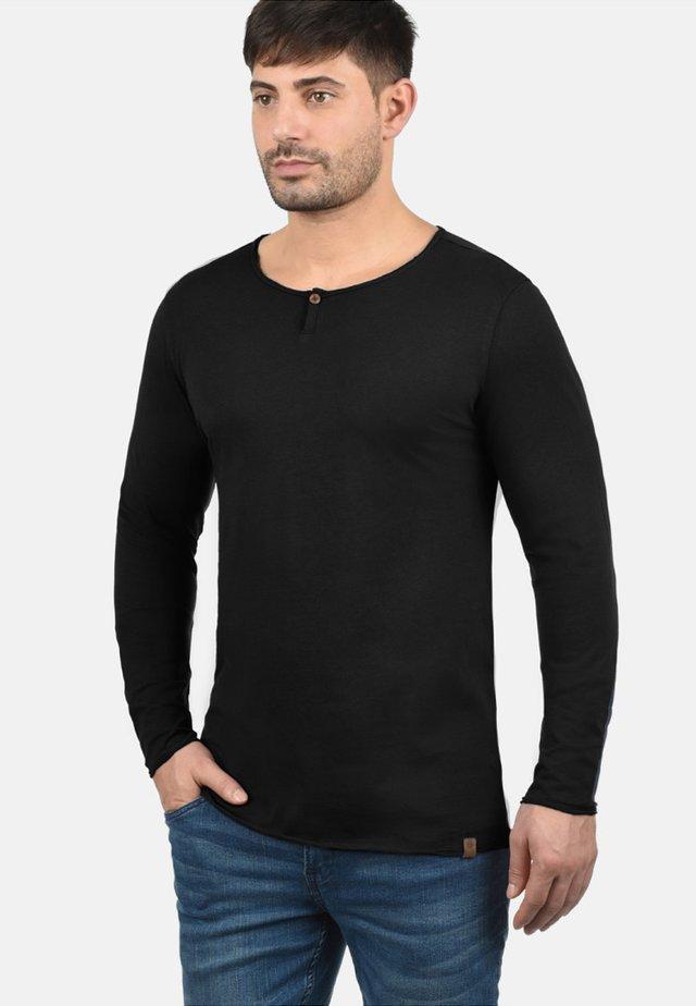 IRENO - Maglietta a manica lunga - black