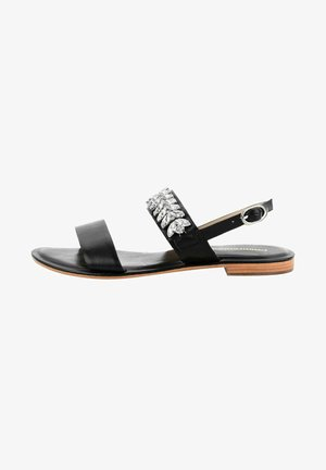 VALCAVA  - Sandaalit nilkkaremmillä - black