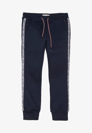 ESSENTIAL TAPE - Tracksuit bottoms - blue