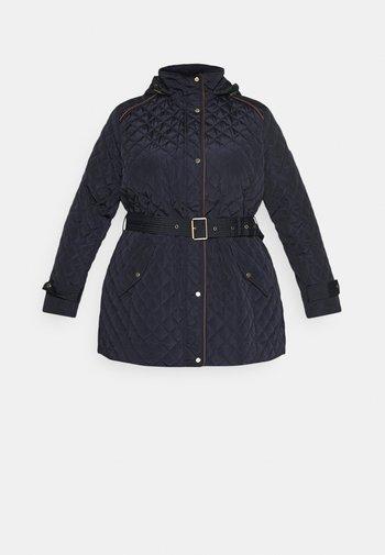 INSULATED COAT - Zimní kabát - dark navy