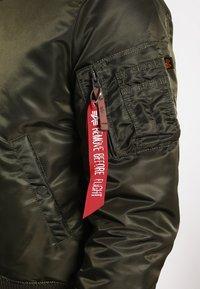 Alpha Industries - Bomber Jacket - dark green - 5