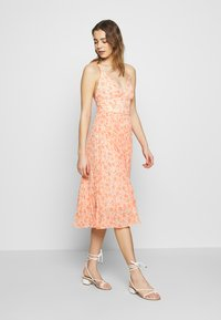 Forever New - MARLEY PLEATED MIDI DRESS - Day dress - apricot harvest botanical - 2