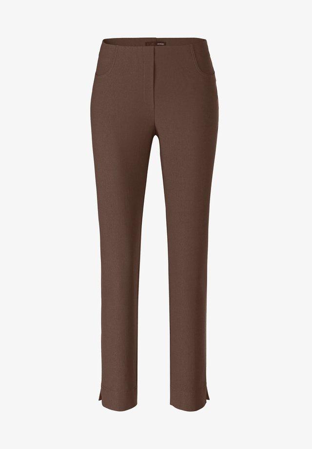 LOLI-742 14060 STRETCHHOSE - Trousers - dunkelbraun