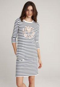 JOOP! - Jersey dress - navy/weiß - 0