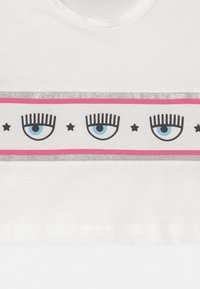 CHIARA FERRAGNI - CROPPED BANDA - Long sleeved top - panna - 2