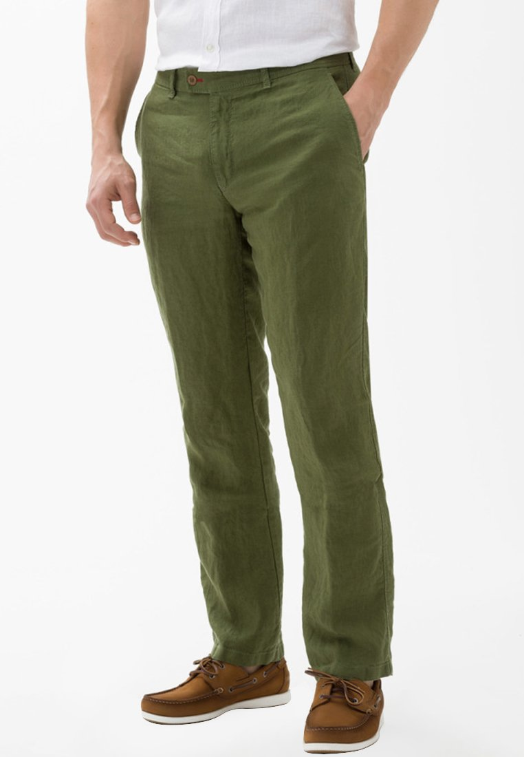 BRAX - STYLE EVANS - Trousers - green
