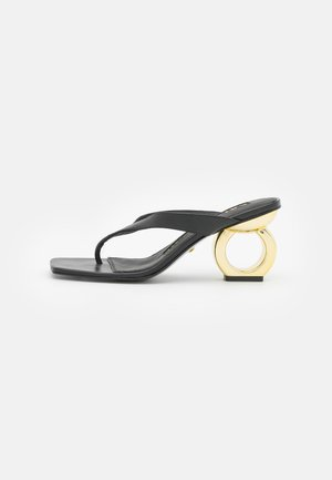 YANA - Sandály s odděleným palcem - black