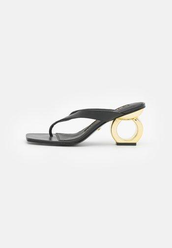 YANA - T-bar sandals - black