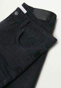 Mango - JAMES - Denim shorts - black denim - 2