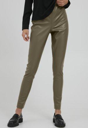 ACOCA LE - Leggings - Trousers - ivy green