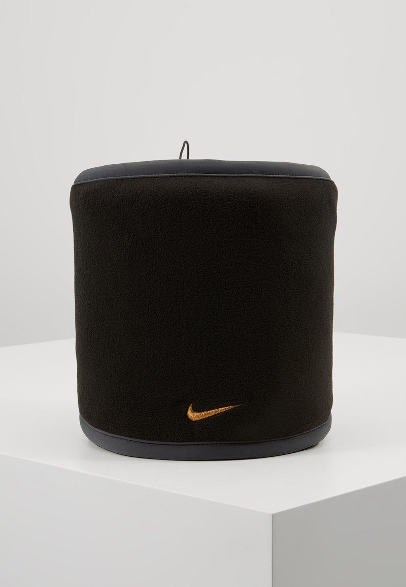 Nike Performance - REVERSIBLE NECK WARMER - Braga - black/anthracite/university gold