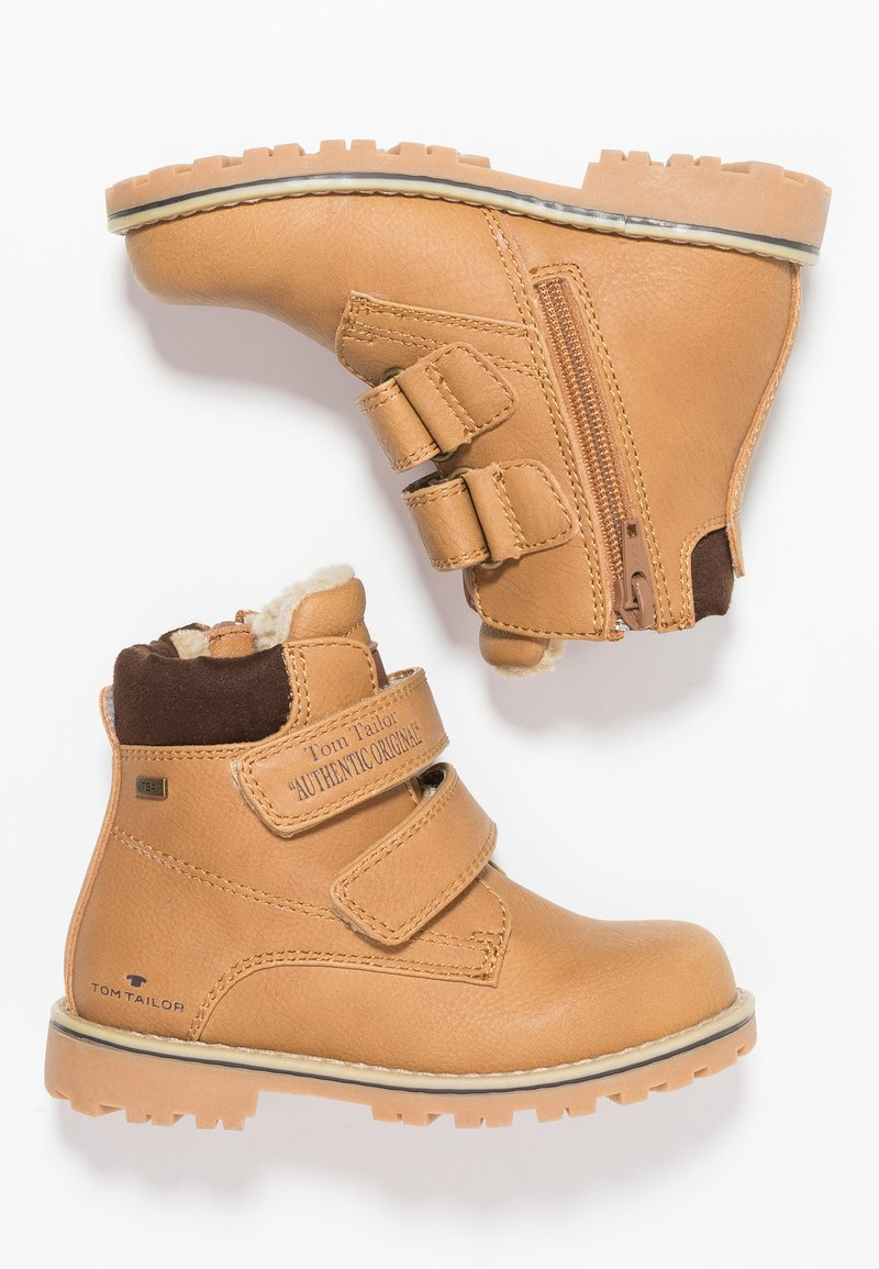 TOM TAILOR - Winter boots - camel