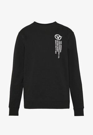 DISTORT TYPE CREW - Sweatshirt - black