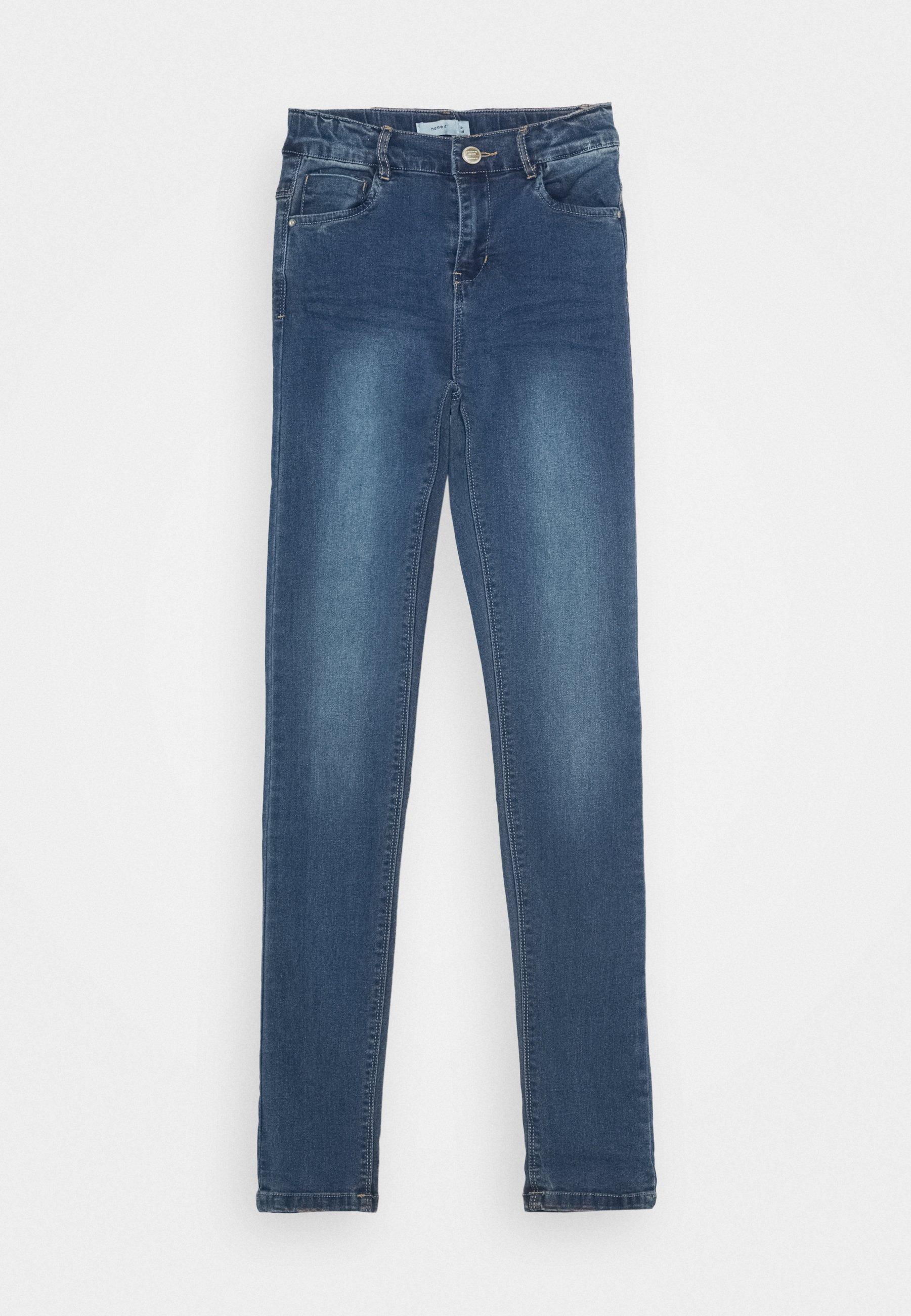 Kids NKFPOLLY PANT - Jeans Skinny Fit