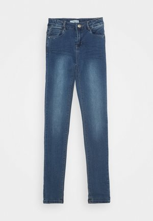 NKFPOLLY PANT - Vaqueros pitillo - medium blue denim