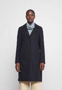 s.Oliver - langarm - Classic coat - navy - 0