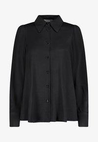Nicowa - Button-down blouse - black - 4