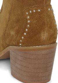 ICHI - IAFANN SUEDE BOOT - Ankle boots - thrunsh - 4