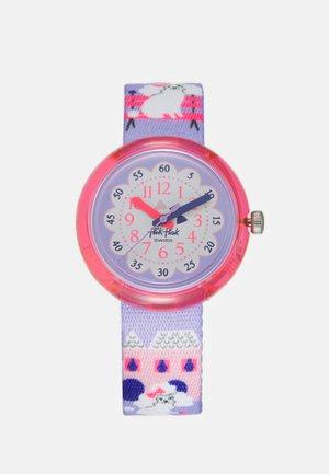 MISS POODLE UNISEX - Watch - purple